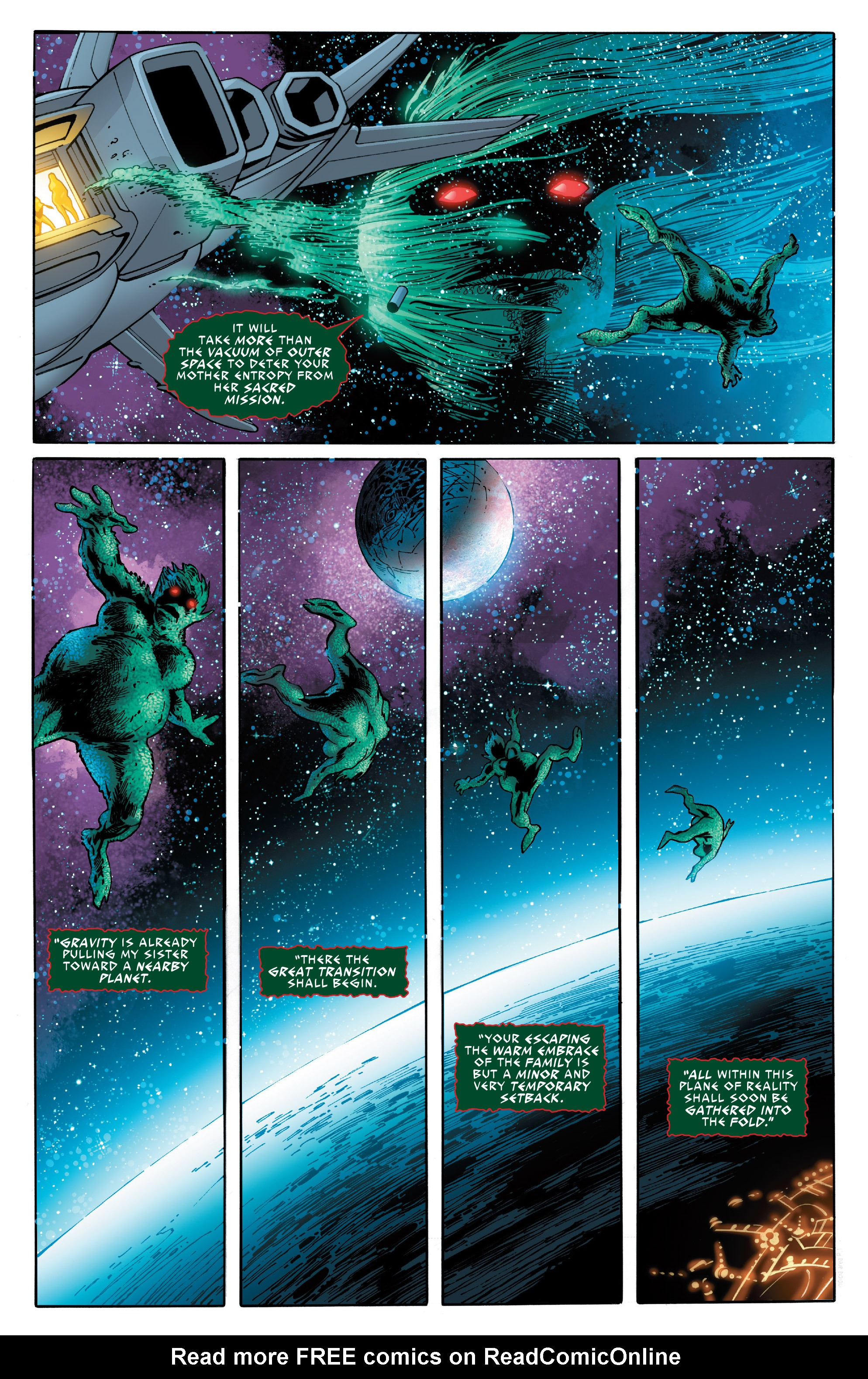 Read online Guardians of the Galaxy: Mother Entropy comic -  Issue #3 - 18
