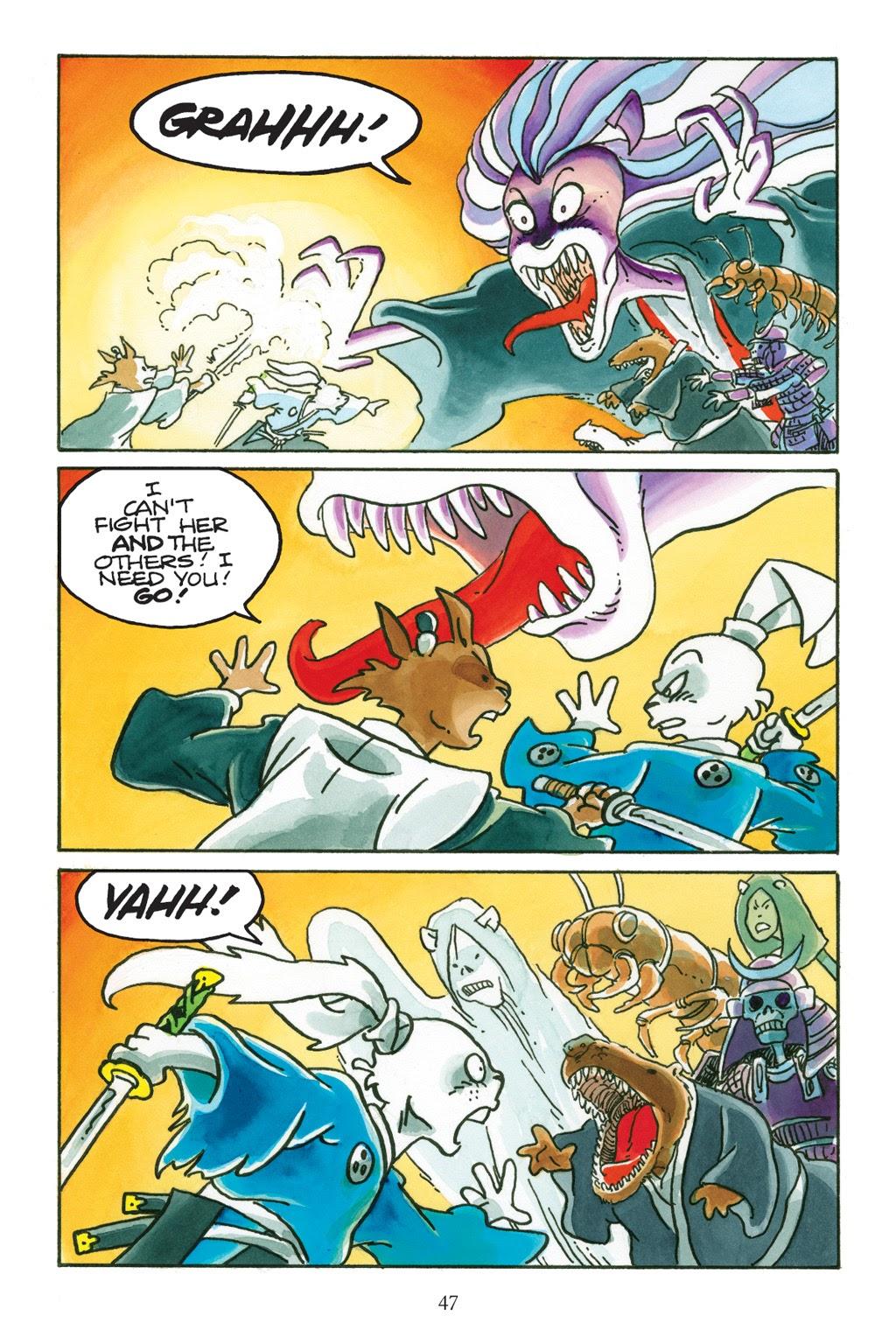 Read online Usagi Yojimbo: Yokai comic -  Issue # Full - 44