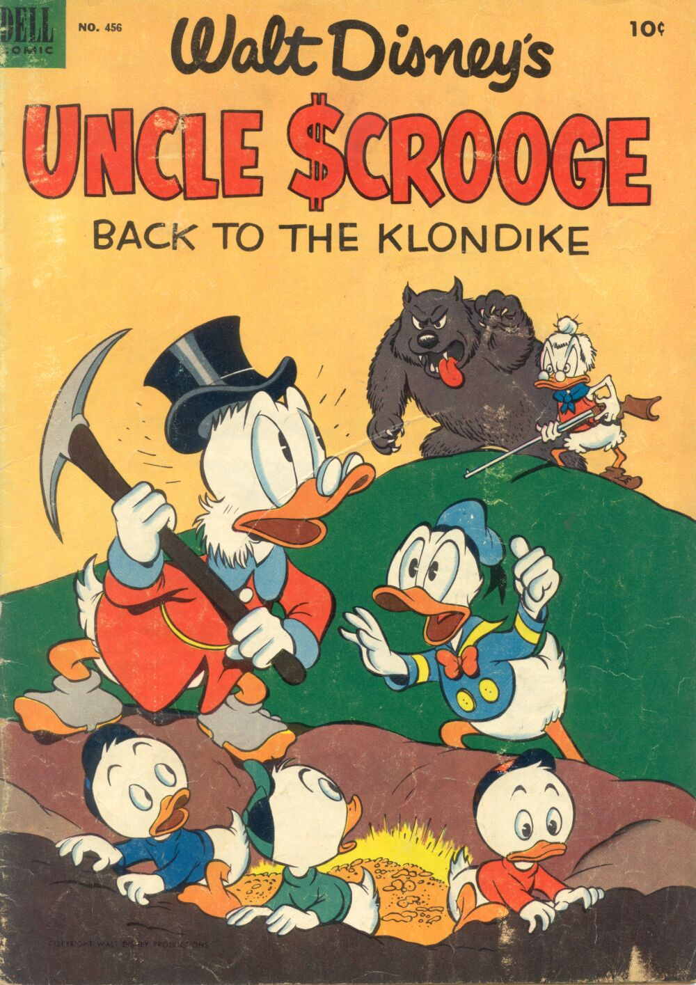 Read online Uncle Scrooge (1953) comic -  Issue #2 - 1