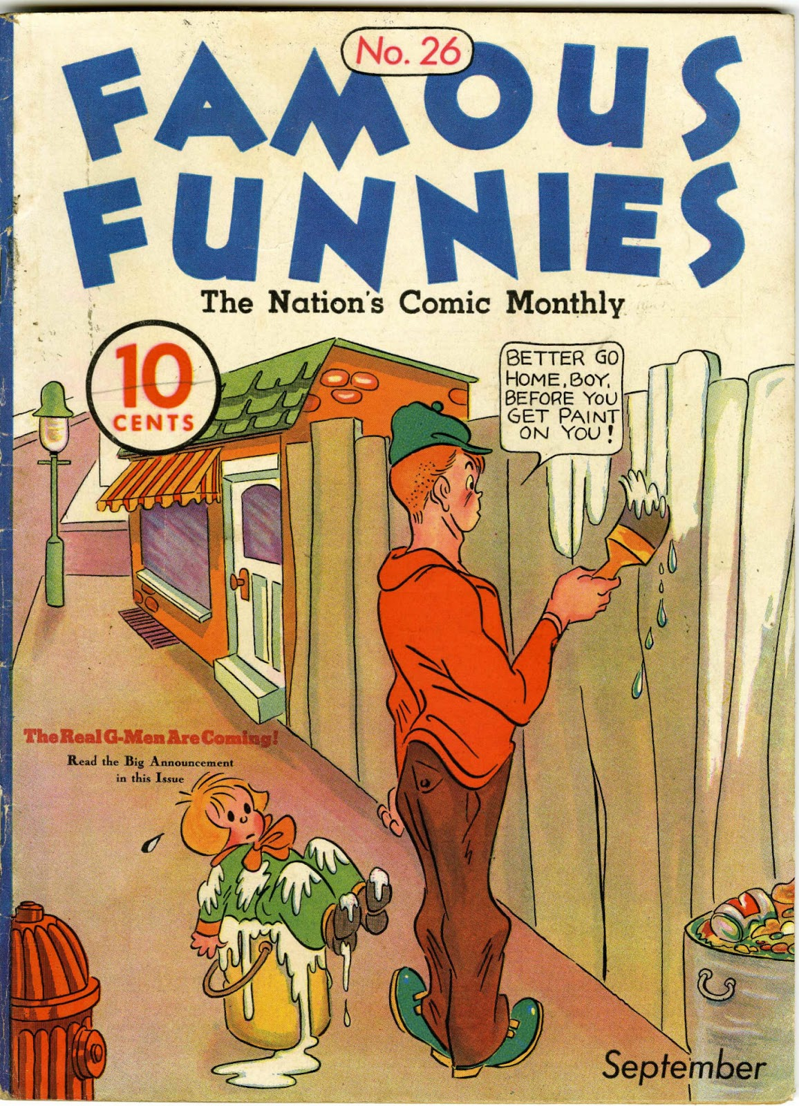 Read online Famous Funnies comic -  Issue #26 - 1
