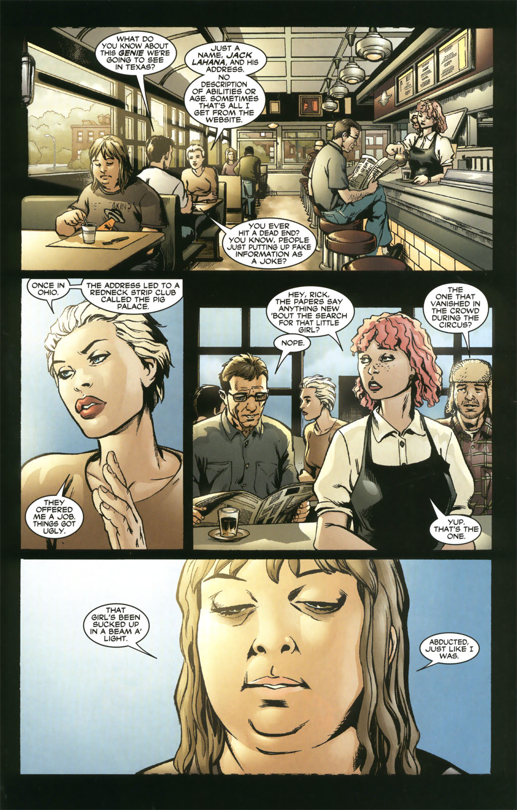 Read online 21 Down comic -  Issue #8 - 7