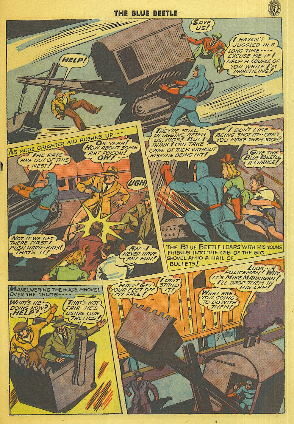The Blue Beetle issue 35 - Page 38