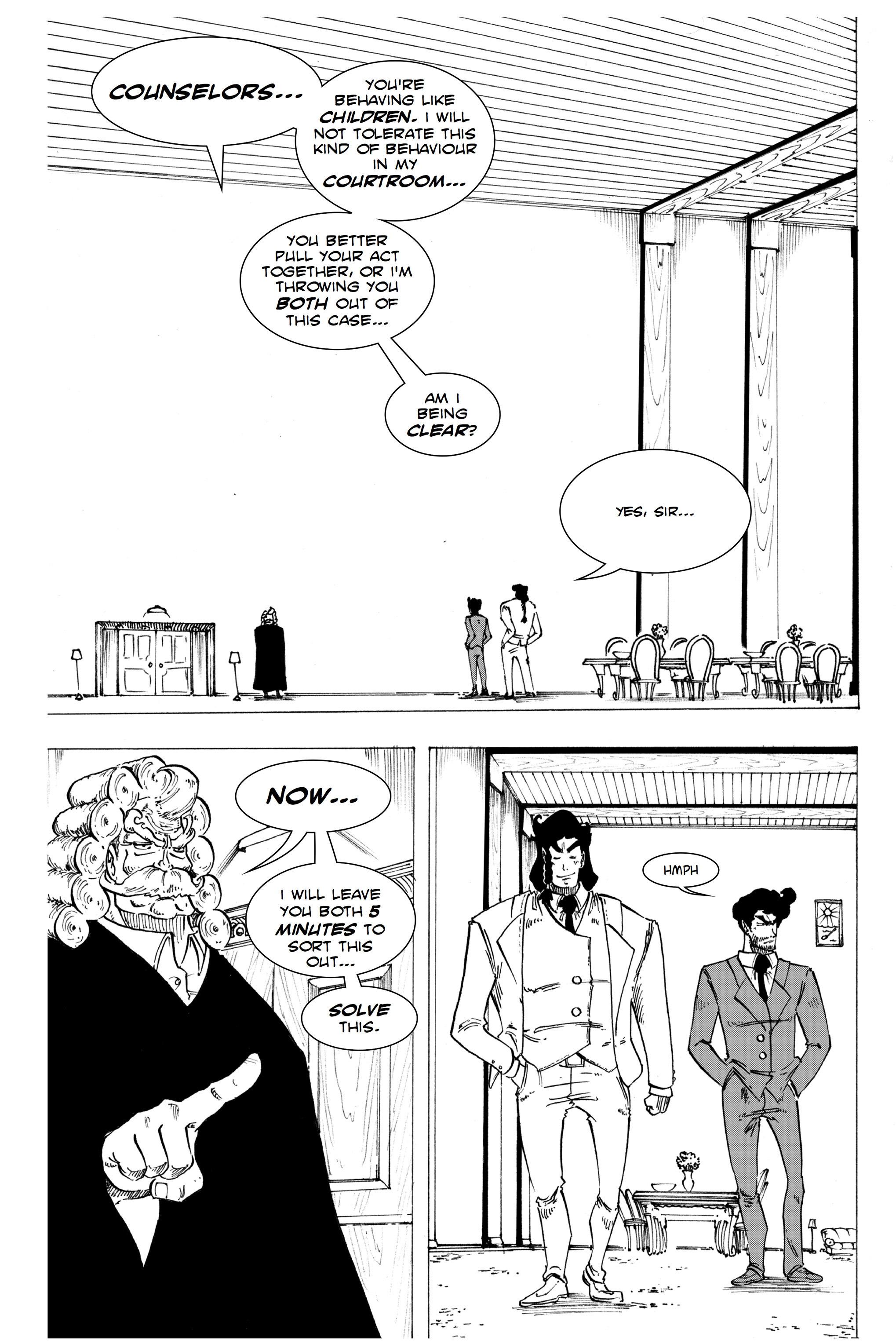 Read online Silvertongue 30xx Vol. 1 comic -  Issue # Full - 55