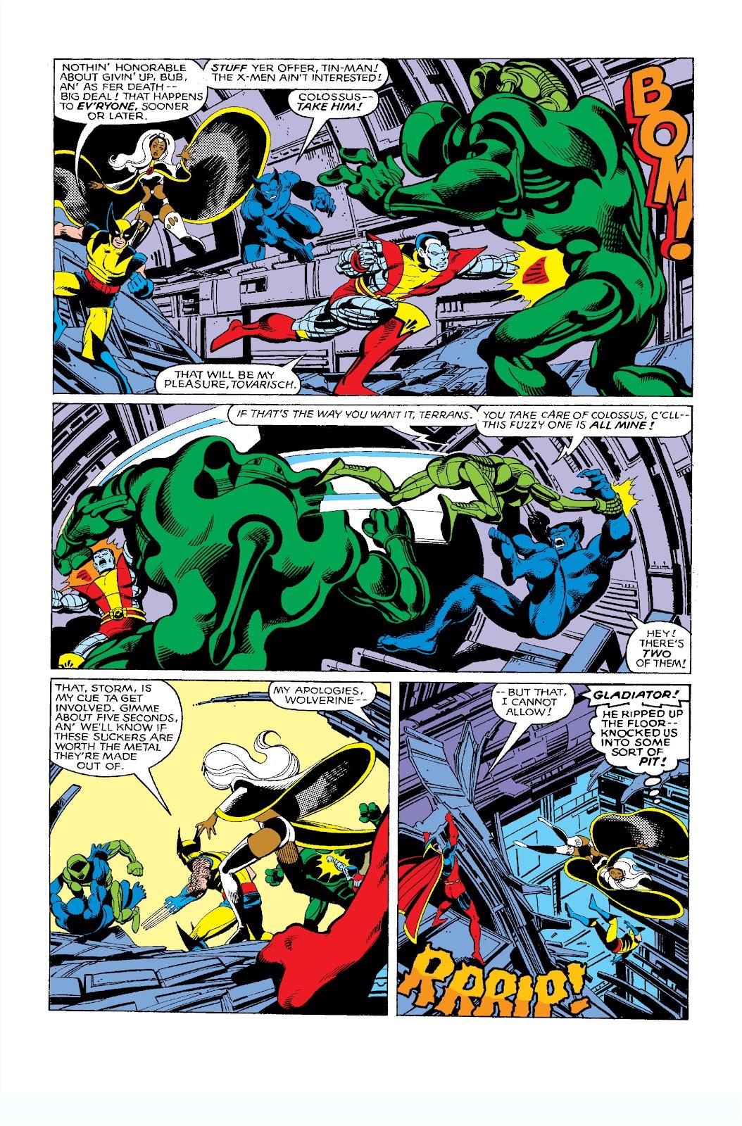 Uncanny X-Men (1963) issue 137 - Page 17