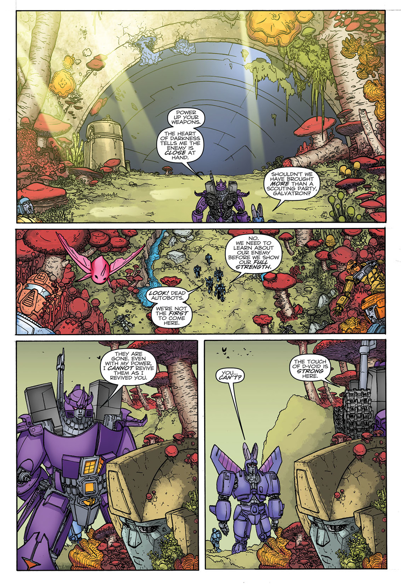 Read online Transformers: Heart of Darkness comic -  Issue #3 - 21