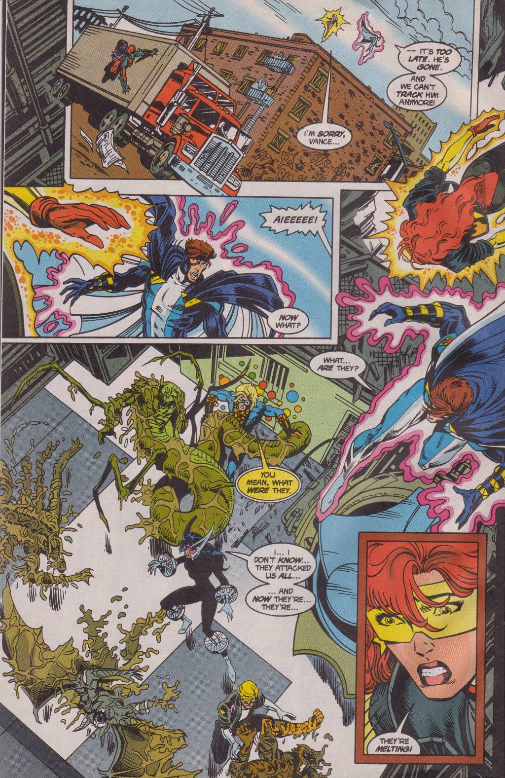 The New Warriors Issue #61 #65 - English 22