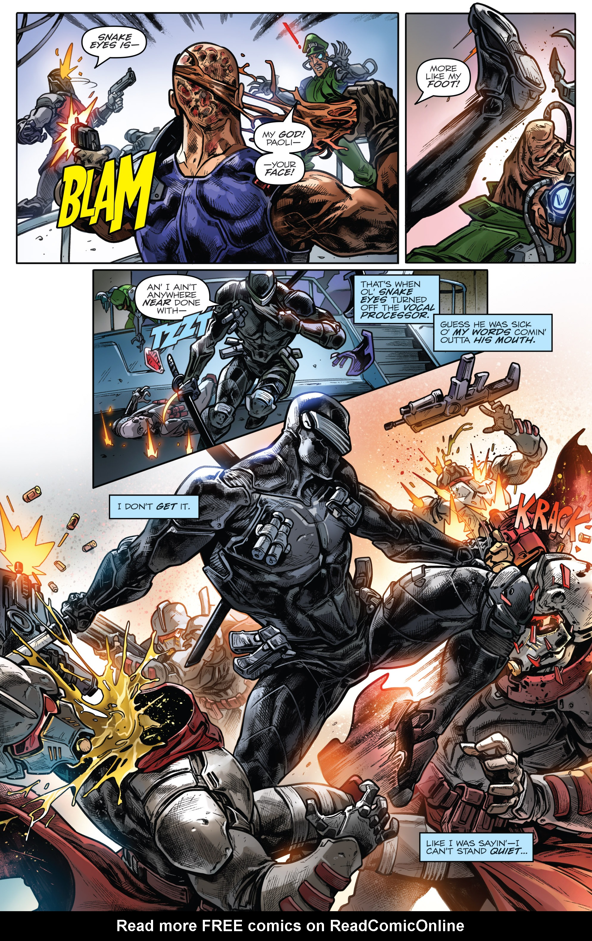 Read online Revolutionaries comic -  Issue #4 - 16