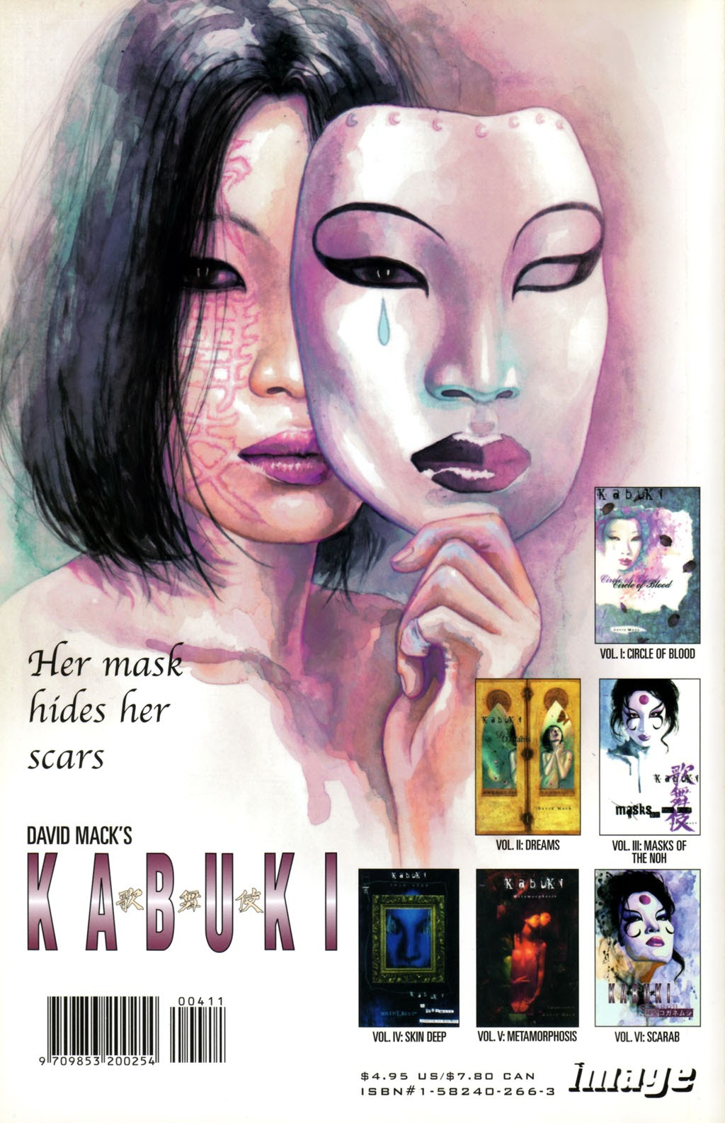 Read online Kabuki: Reflections comic -  Issue #4 - 52