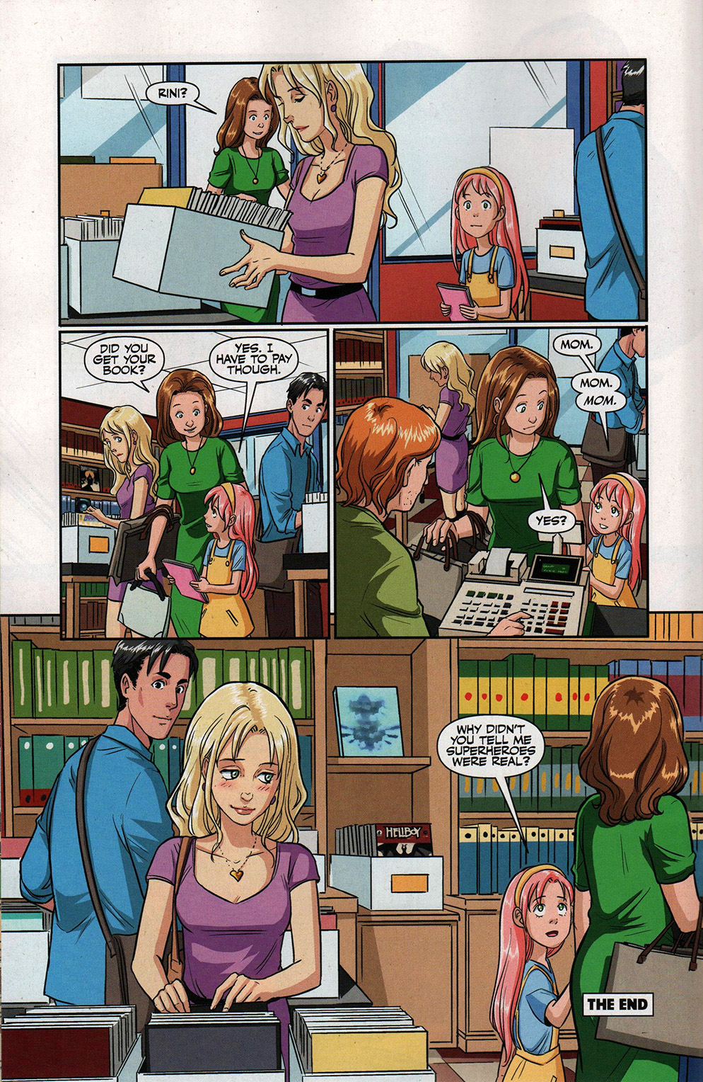 Read online Free Comic Book Day 2017 comic -  Issue # Buffy - Plants vs Zombies - 14