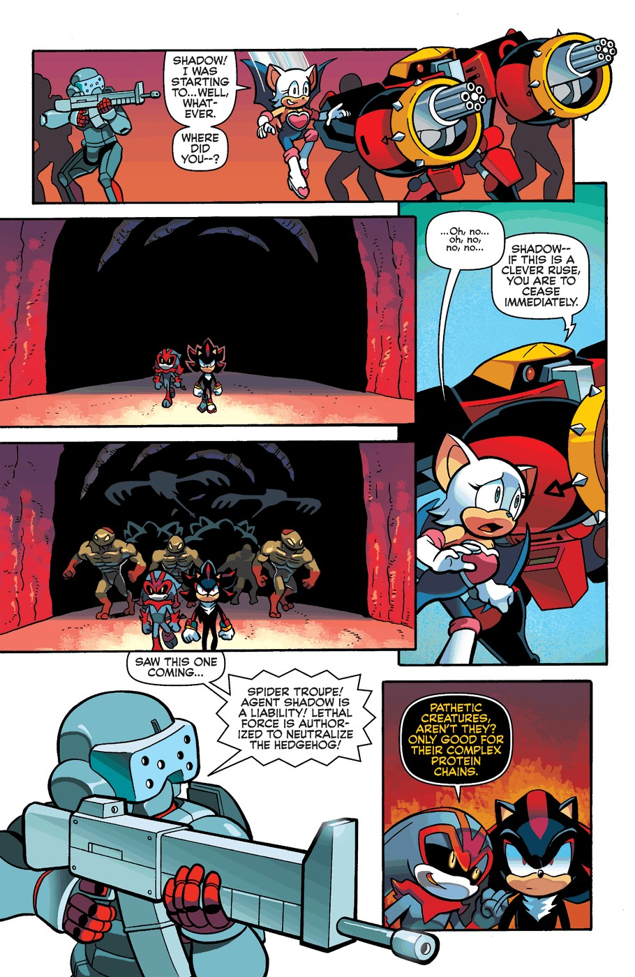Read online Sonic Universe comic -  Issue #60 - 21