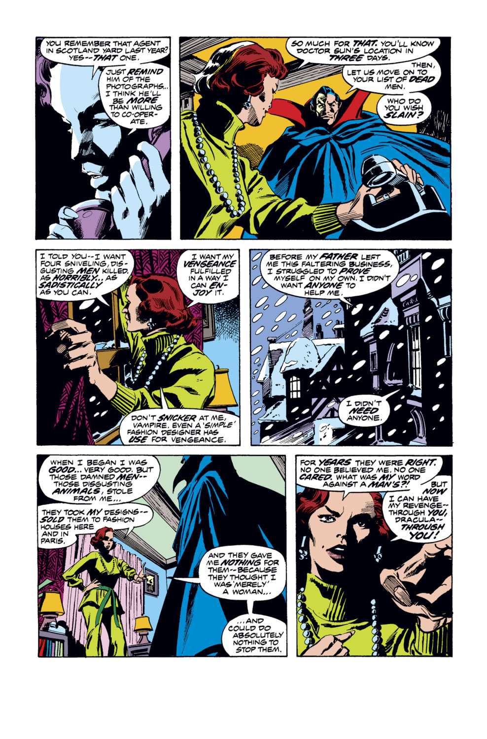 Tomb of Dracula (1972) issue 35 - Page 4