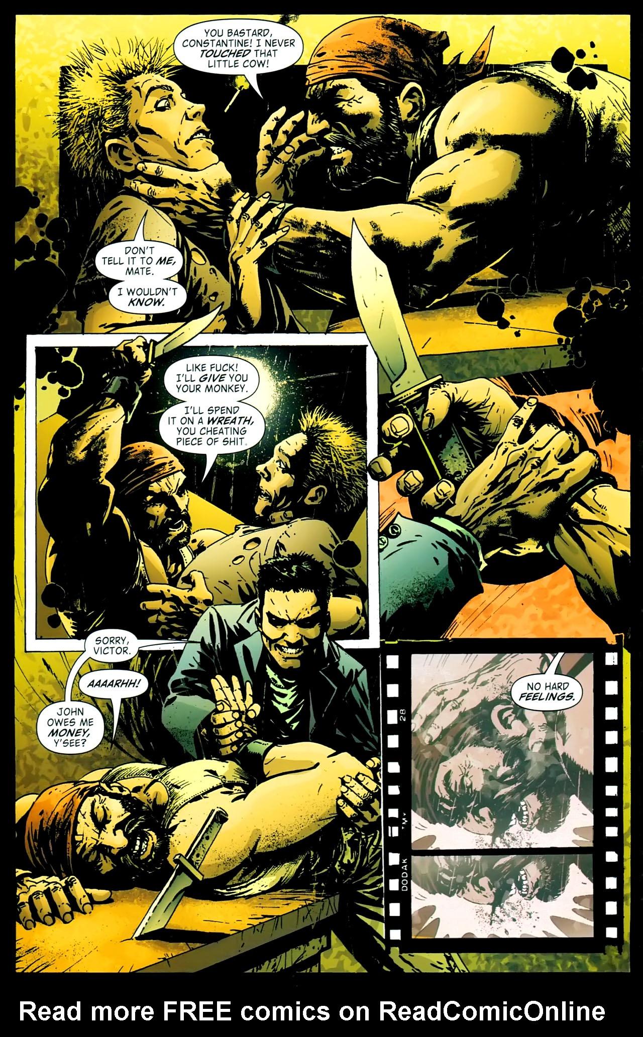 Read online John Constantine Hellblazer: All His Engines comic -  Issue # Full - 22