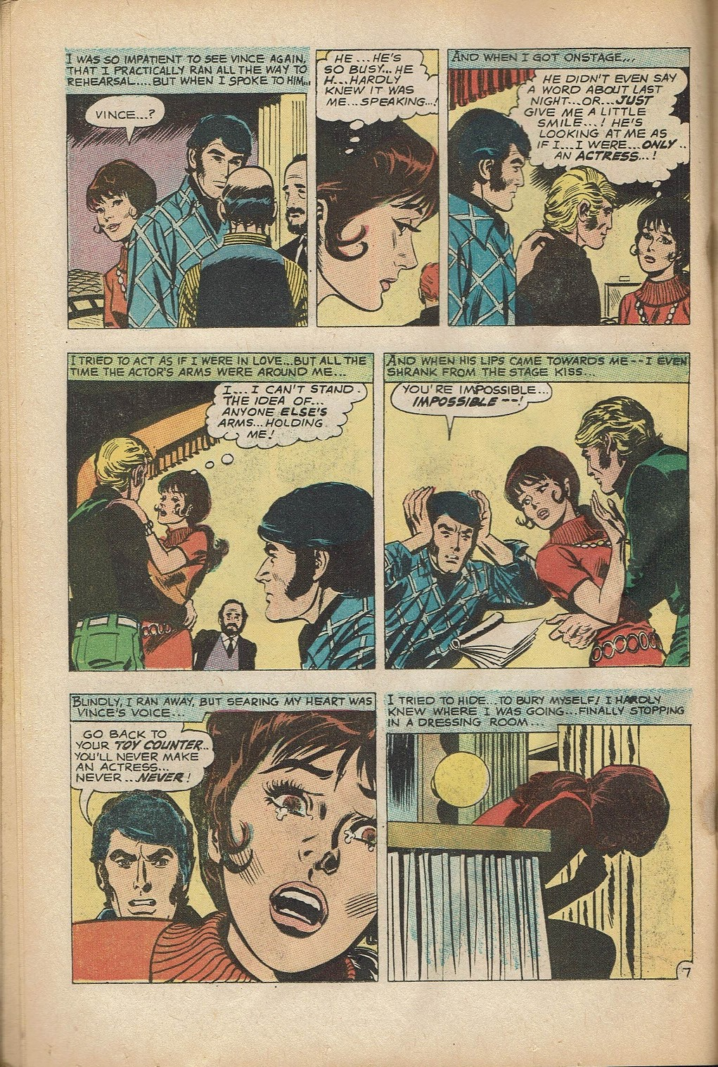 Read online Secret Hearts comic -  Issue #152 - 22