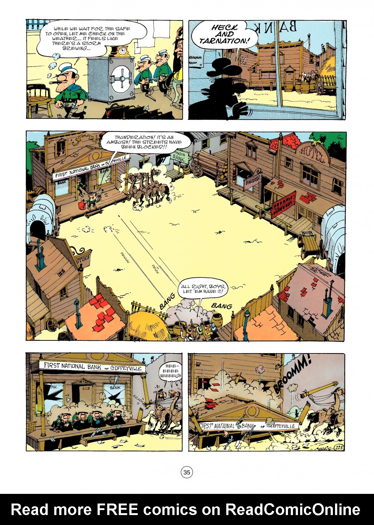 Read online A Lucky Luke Adventure comic -  Issue #47 - 35