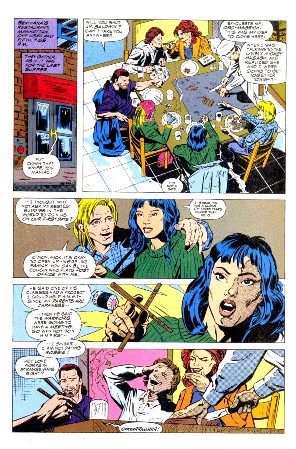 The New Warriors Issue #47 #51 - English 7