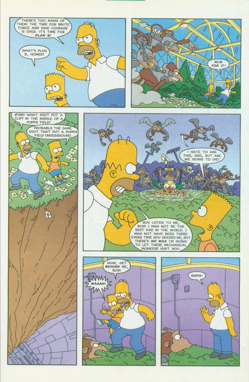 Read online Simpsons Comics comic -  Issue #41 - 20