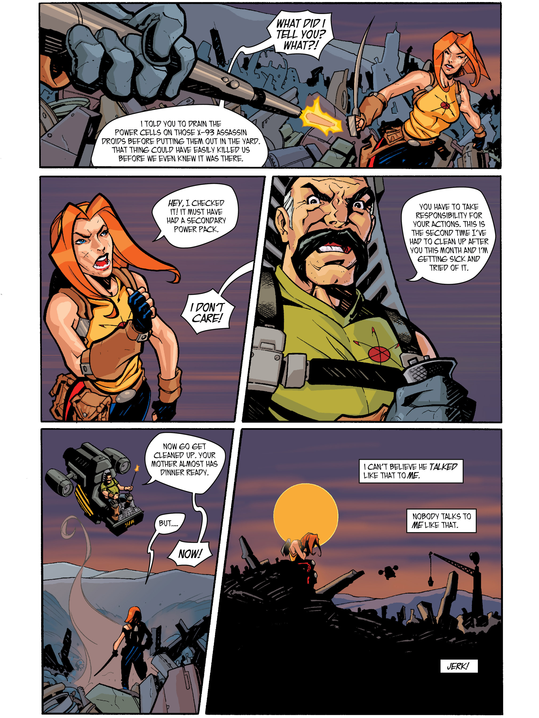 Read online Amber Atoms comic -  Issue #1 - 15