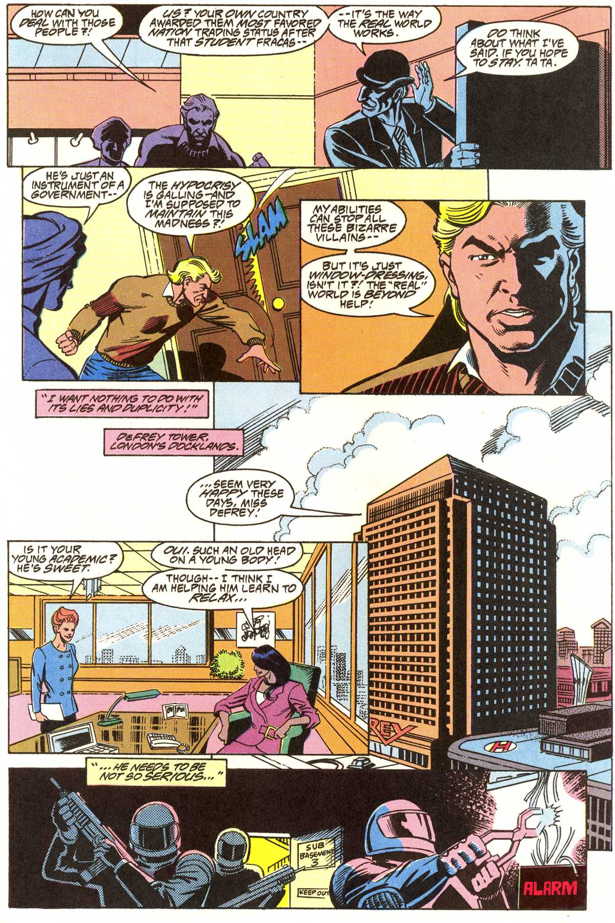 Read online Peter Cannon--Thunderbolt (1992) comic -  Issue #7 - 20