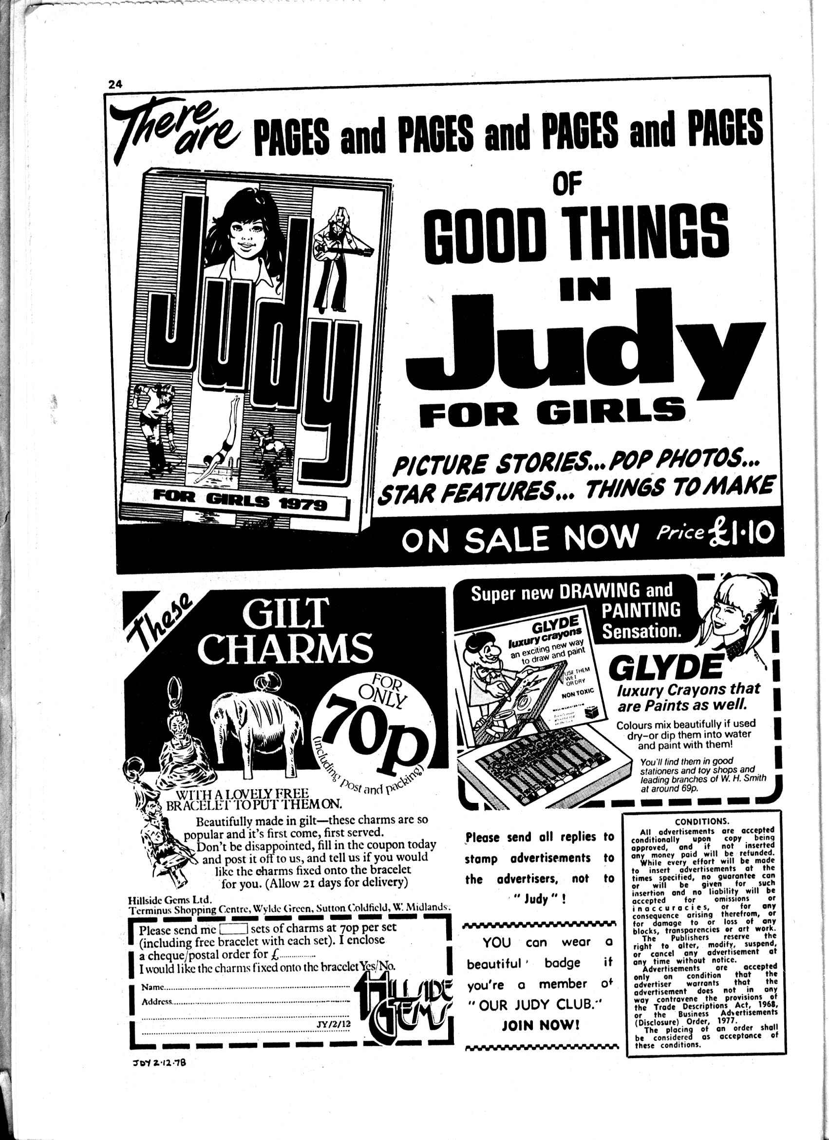 Read online Judy comic -  Issue #986 - 24