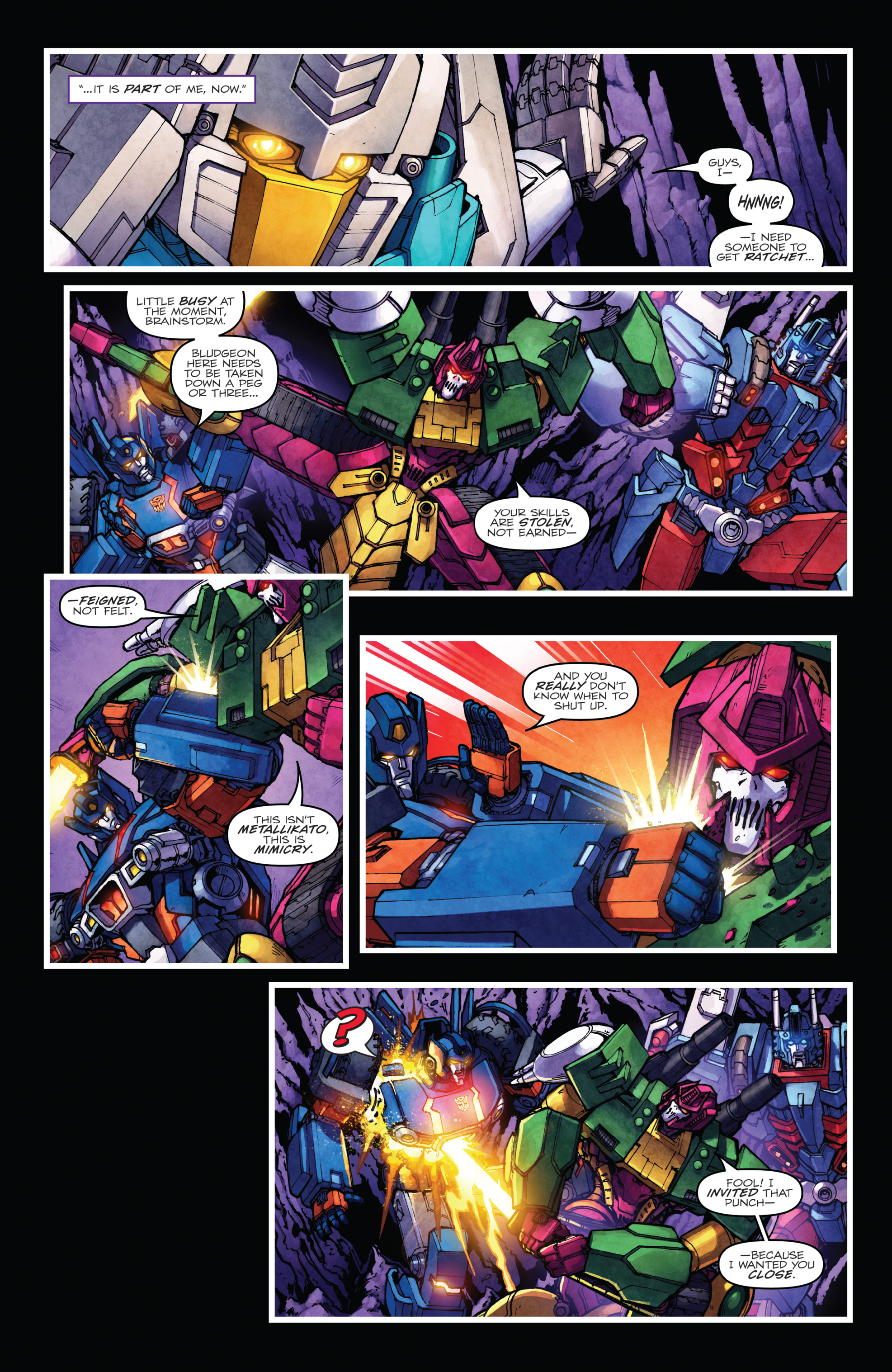 Read online The Transformers: Dark Cybertron Finale comic -  Issue # Full - 121