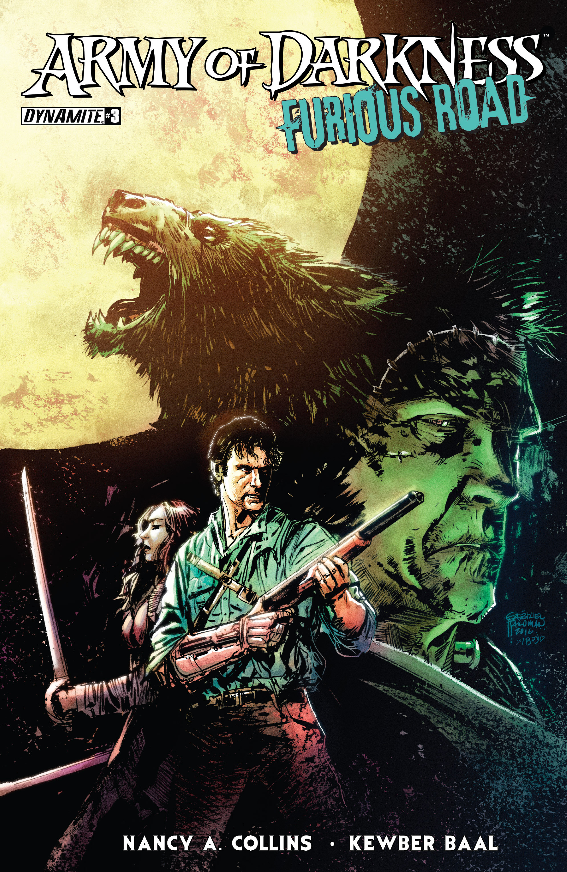 Read online Army of Darkness: Furious Road comic -  Issue #3 - 1