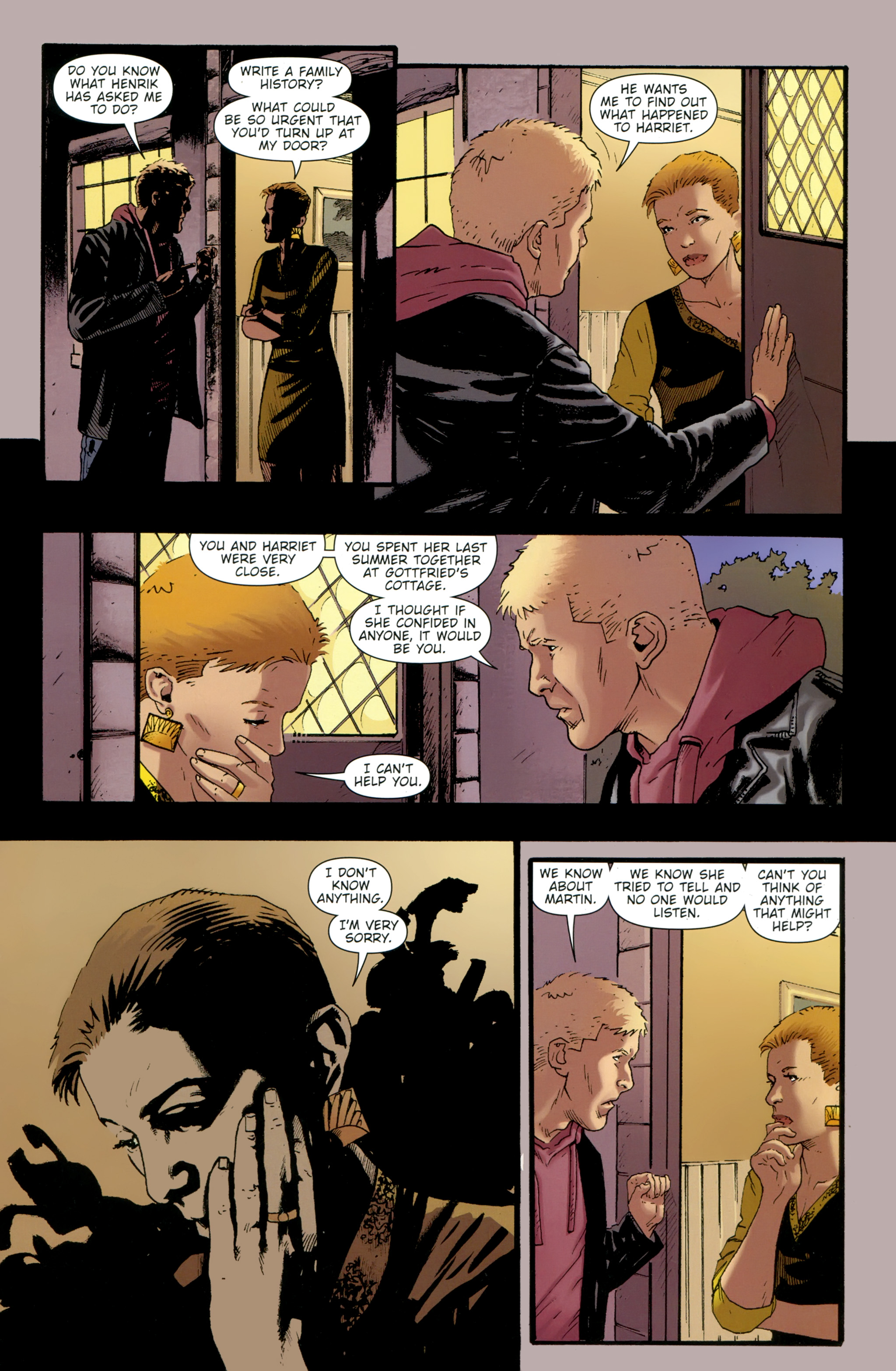 Read online The Girl With the Dragon Tattoo comic -  Issue # TPB 2 - 127