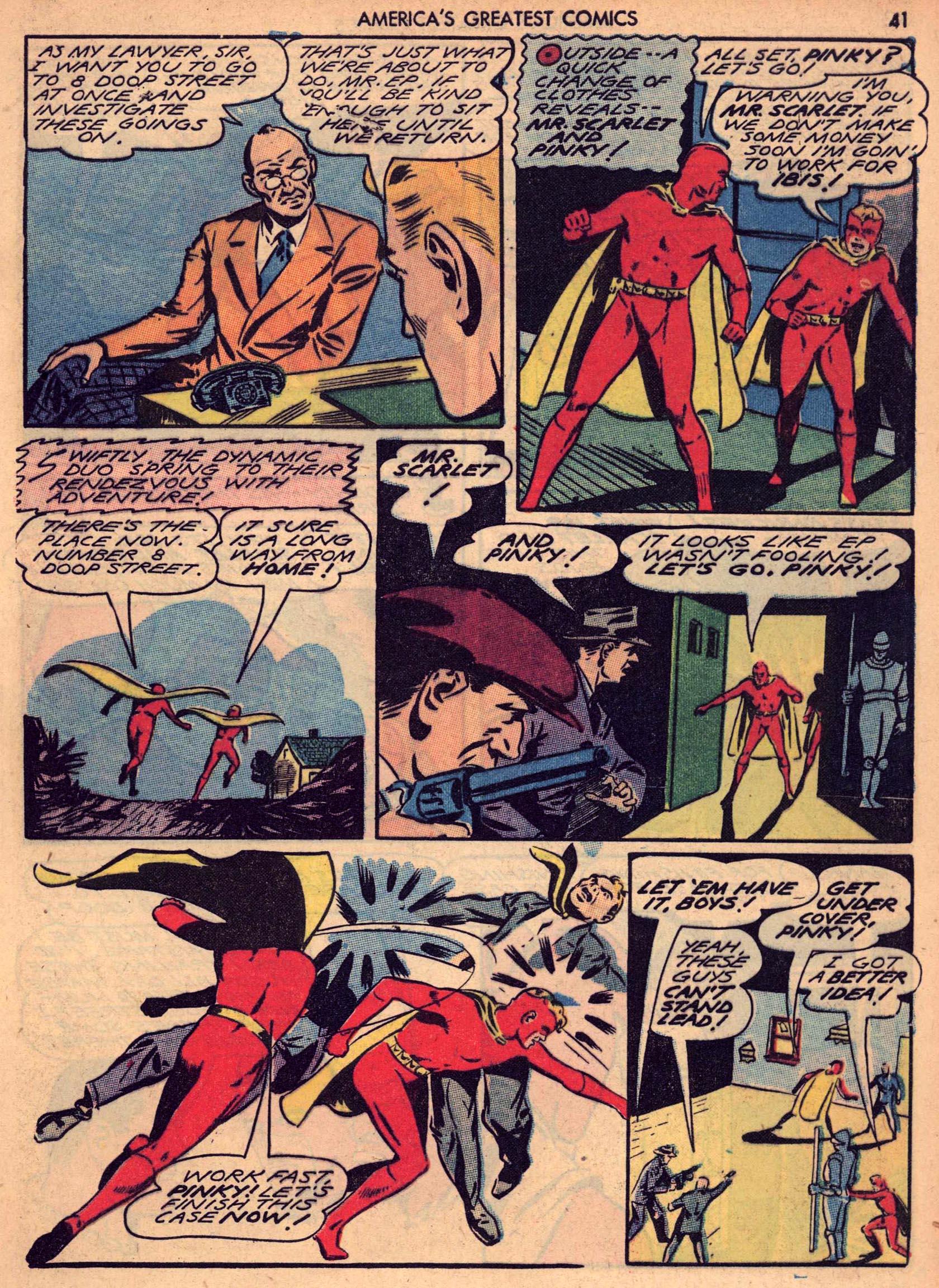 Read online America's Greatest Comics comic -  Issue #7 - 40