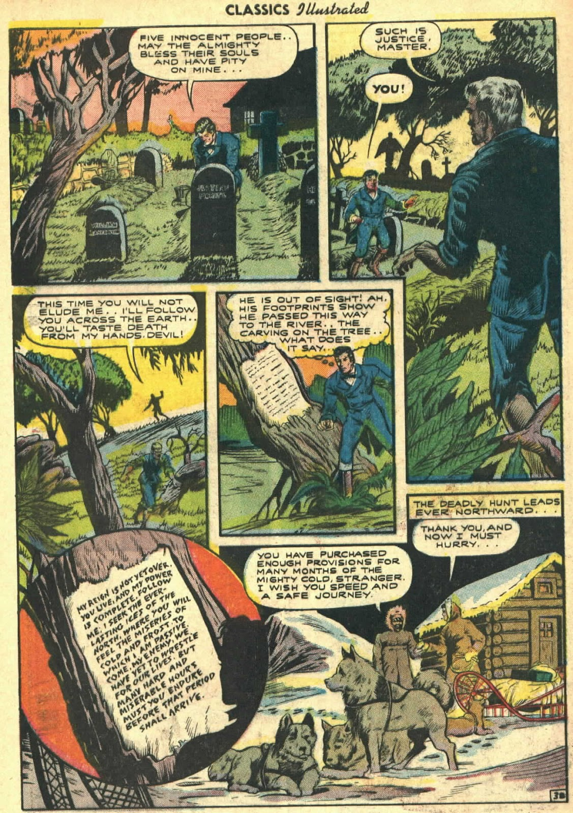 Classics Illustrated issue 26 - Page 40