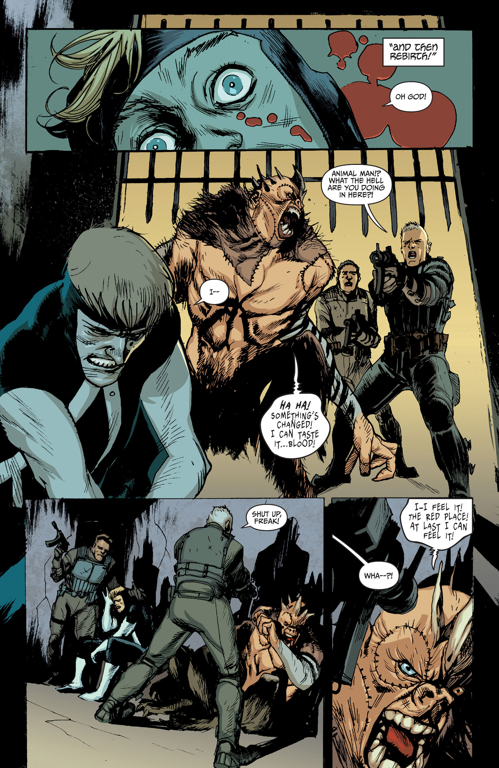 Read online Animal Man (2011) comic -  Issue #24 - 9
