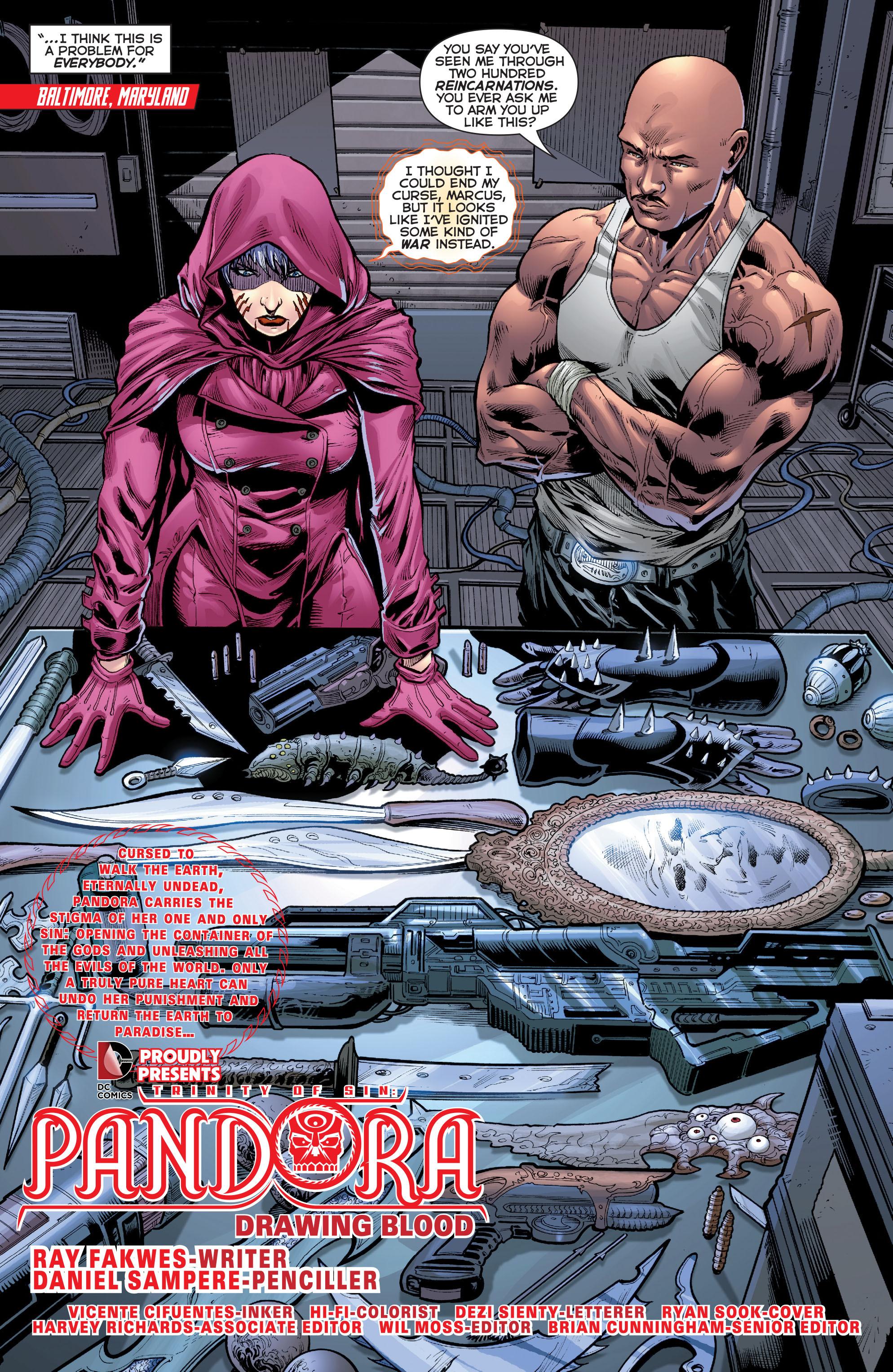Read online Trinity of Sin: Pandora comic -  Issue #2 - 4