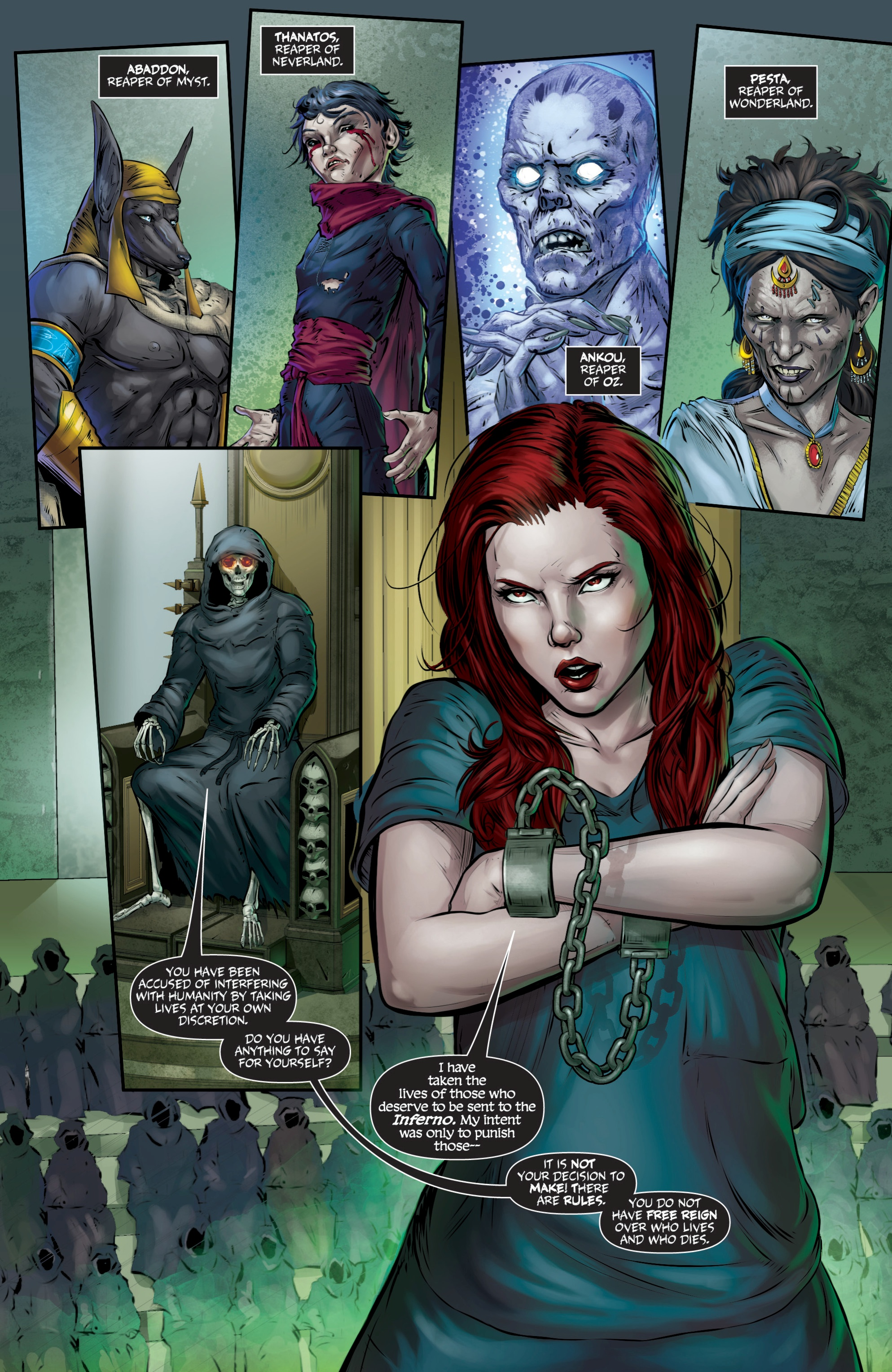 Read online Grimm Fairy Tales presents Death comic -  Issue # Full - 13