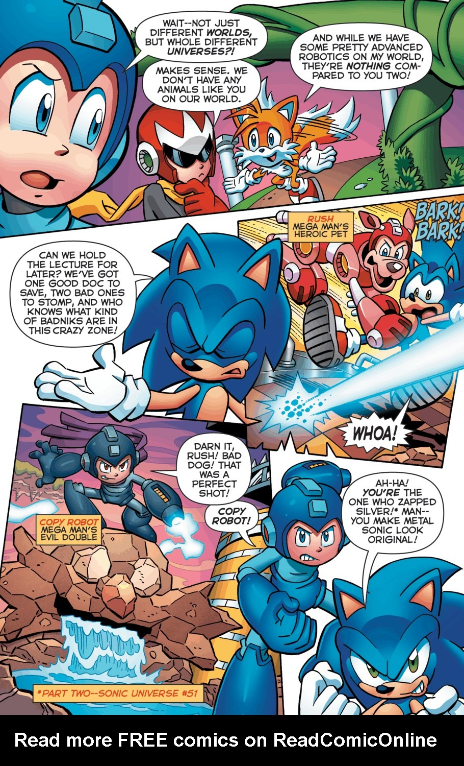 Read online Sonic Universe comic -  Issue #52 - 5