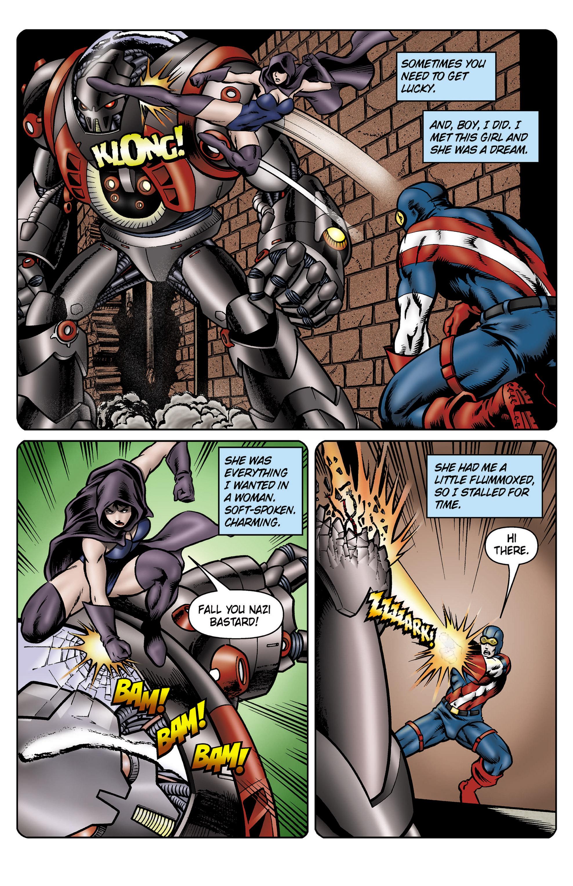 Read online SideChicks comic -  Issue #5 - 9