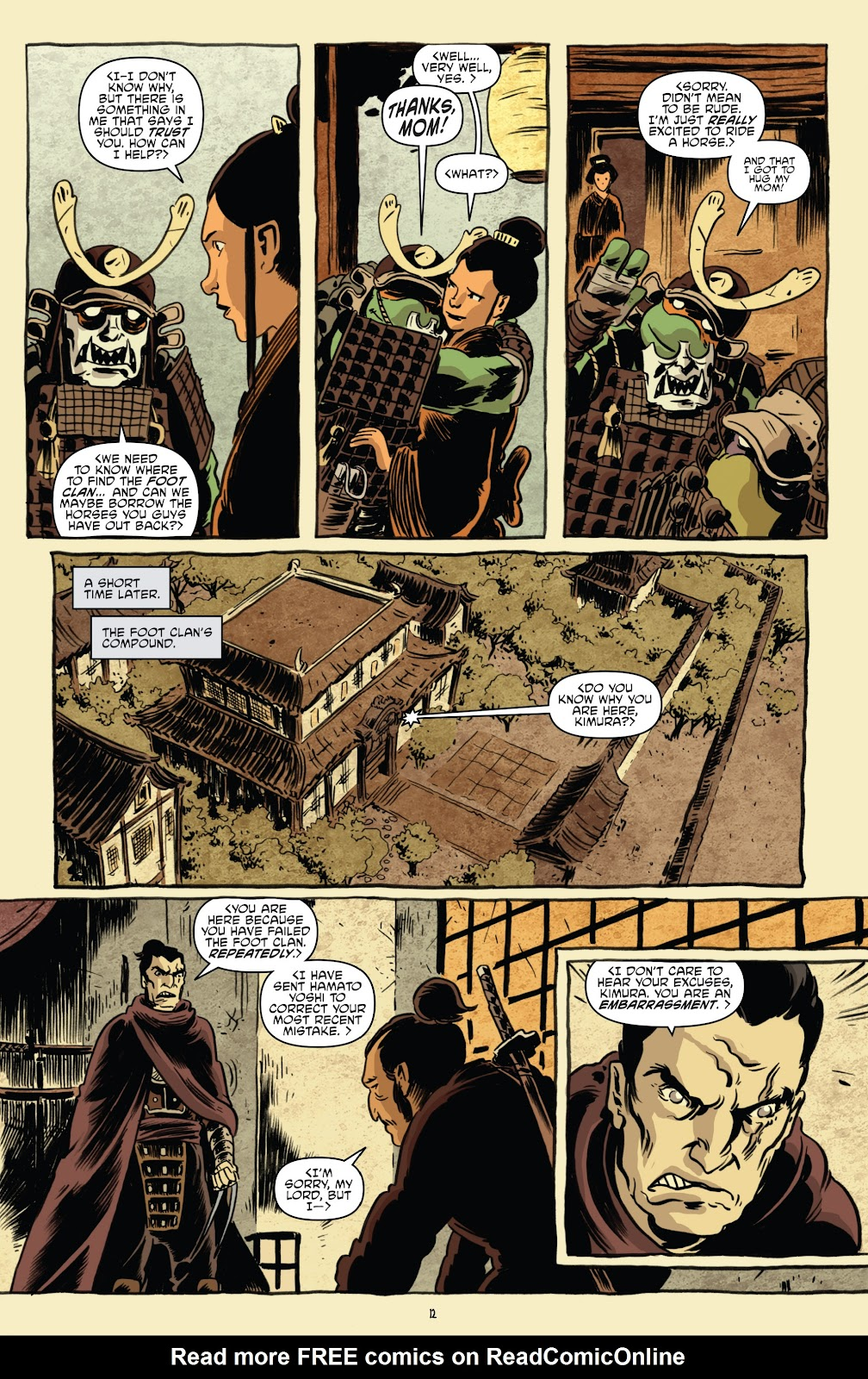 Read online Teenage Mutant Ninja Turtles: The IDW Collection comic -  Issue # TPB 5 (Part 1) - 42