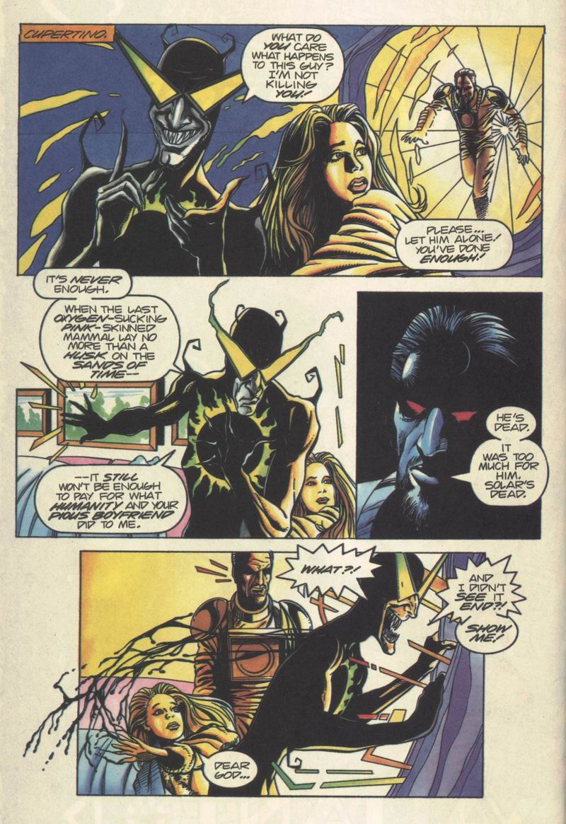 Read online Solar, Man of the Atom comic -  Issue #37 - 9
