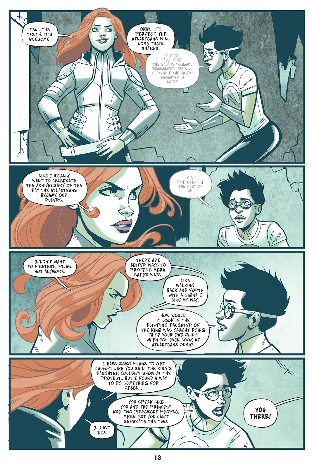 Read online Mera: Tidebreaker comic -  Issue # TPB (Part 1) - 13