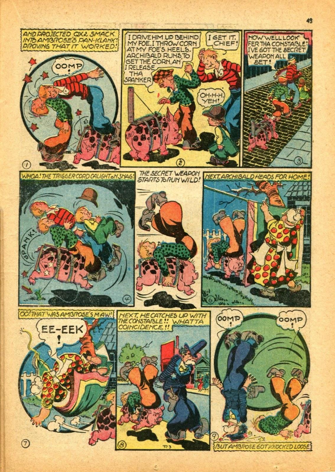 Read online Super-Magician Comics comic -  Issue #12 - 43