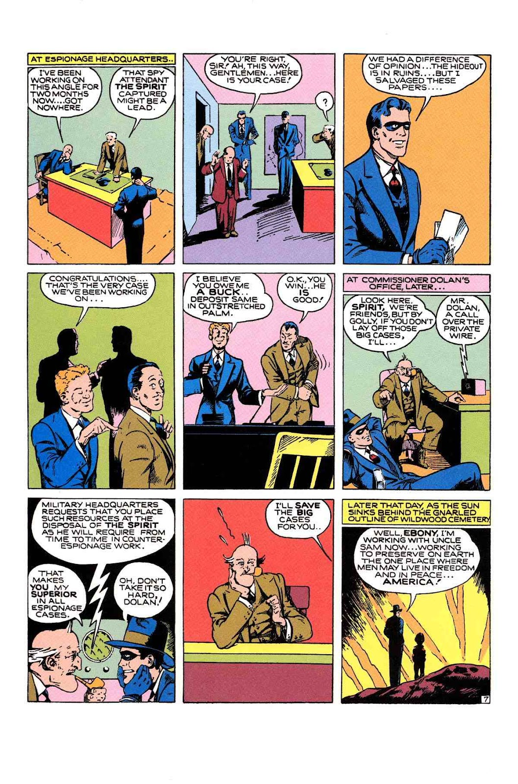 Read online Will Eisner's The Spirit Archives comic -  Issue # TPB 1 (Part 2) - 55