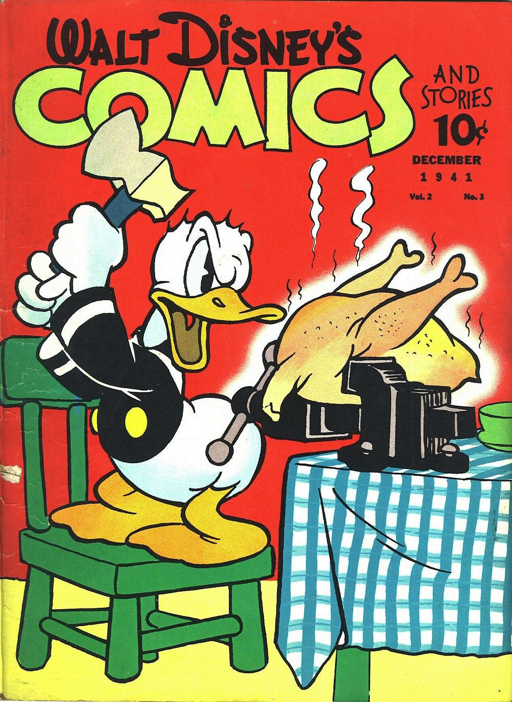 Walt Disneys Comics and Stories 15 Page 1