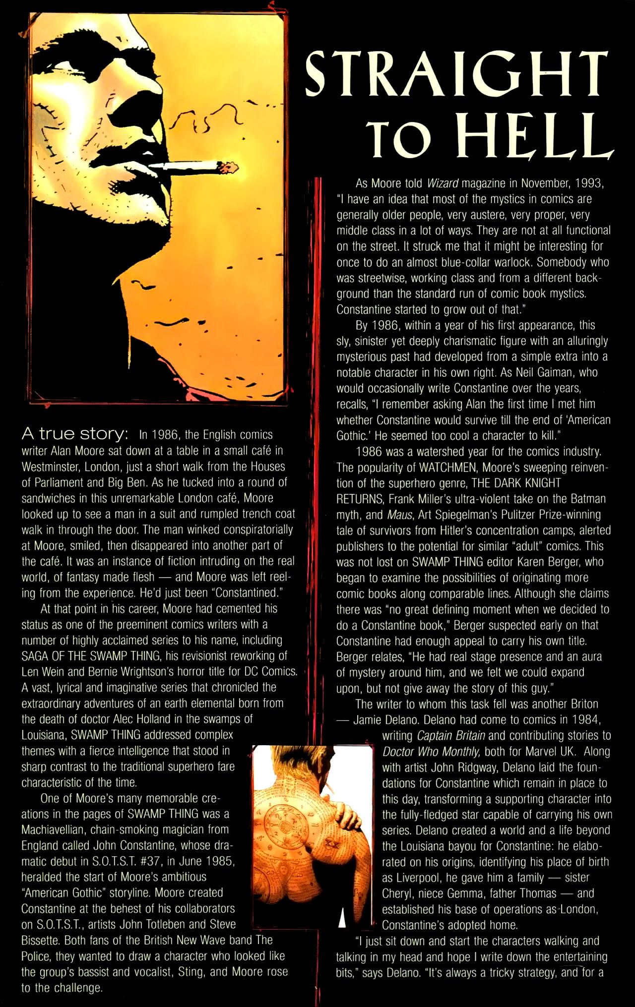 Read online John Constantine Hellblazer: All His Engines comic -  Issue # Full - 121