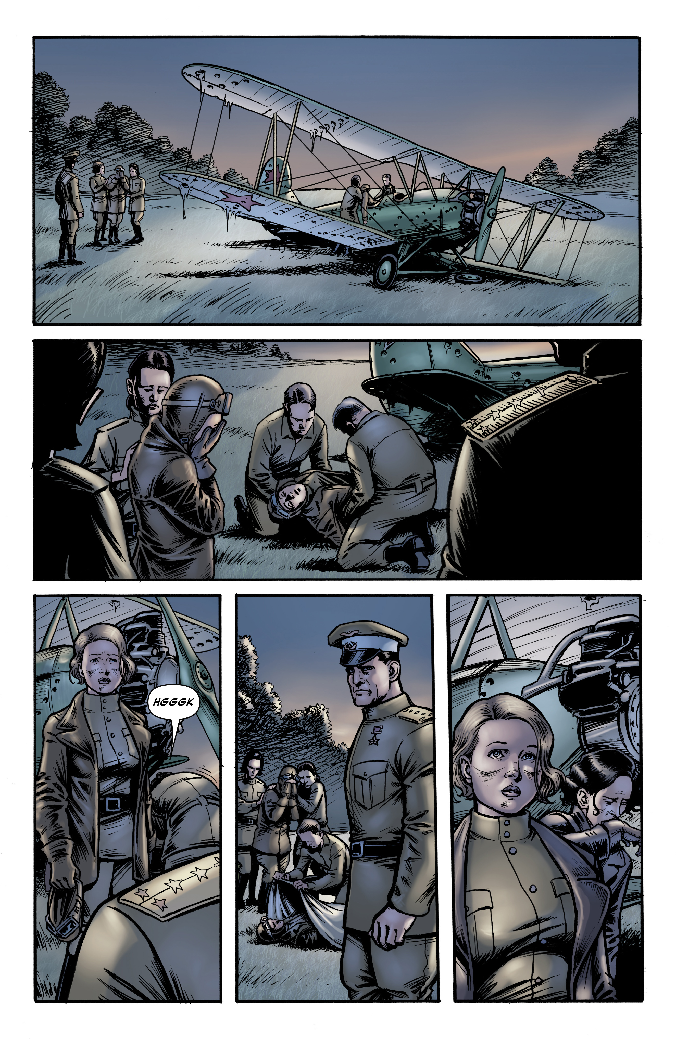 Read online Battlefields: Night Witches comic -  Issue # TPB - 21