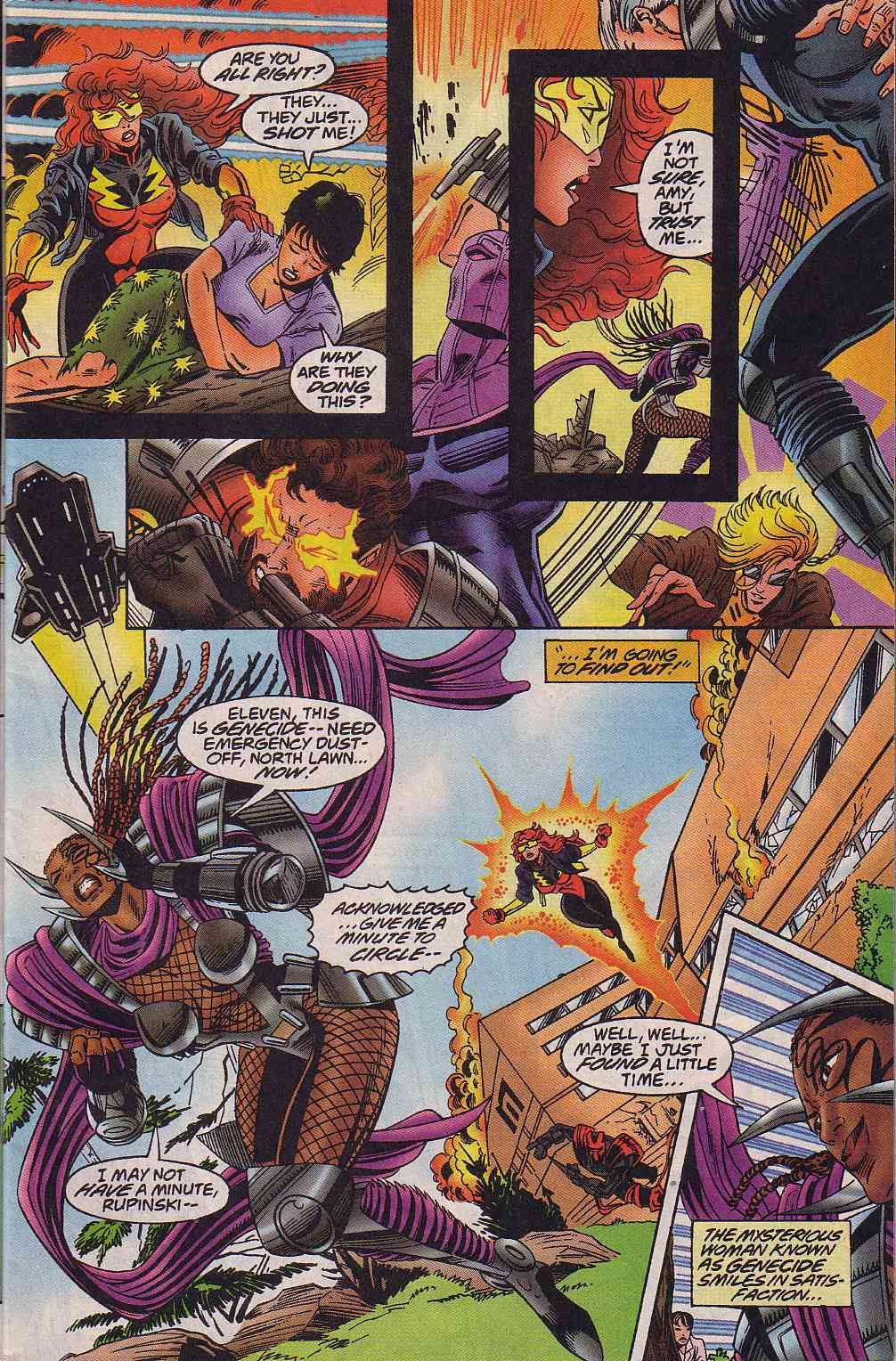 The New Warriors Issue #64 #68 - English 4