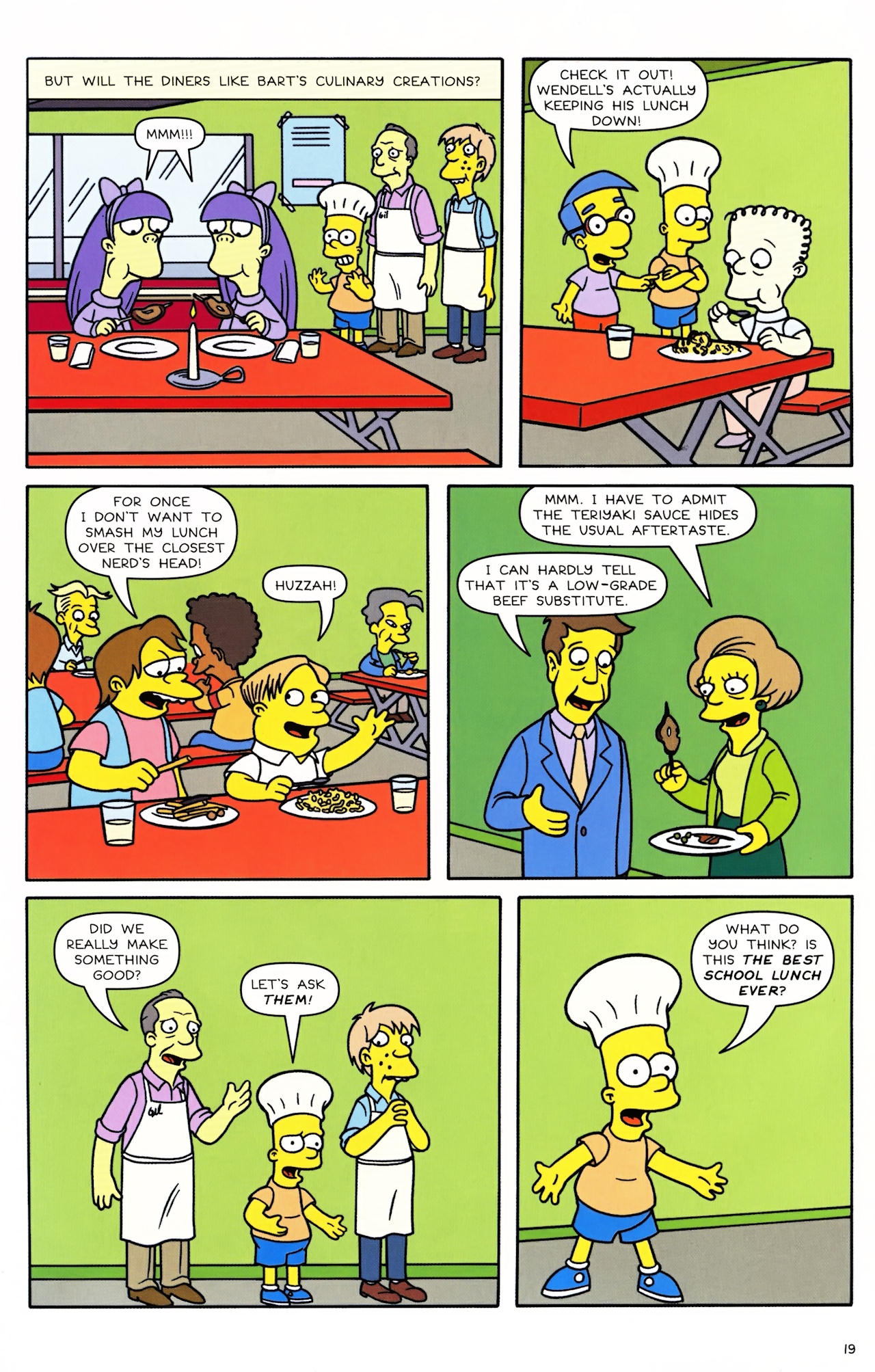 Read online Simpsons Comics Presents Bart Simpson comic -  Issue #46 - 21