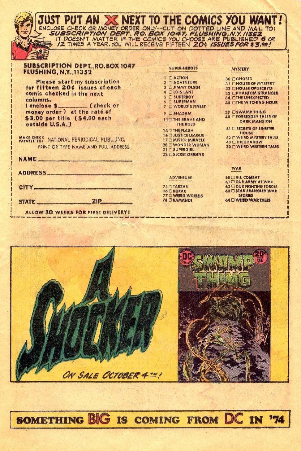 Read online Secret Origins (1973) comic -  Issue #6 - 17