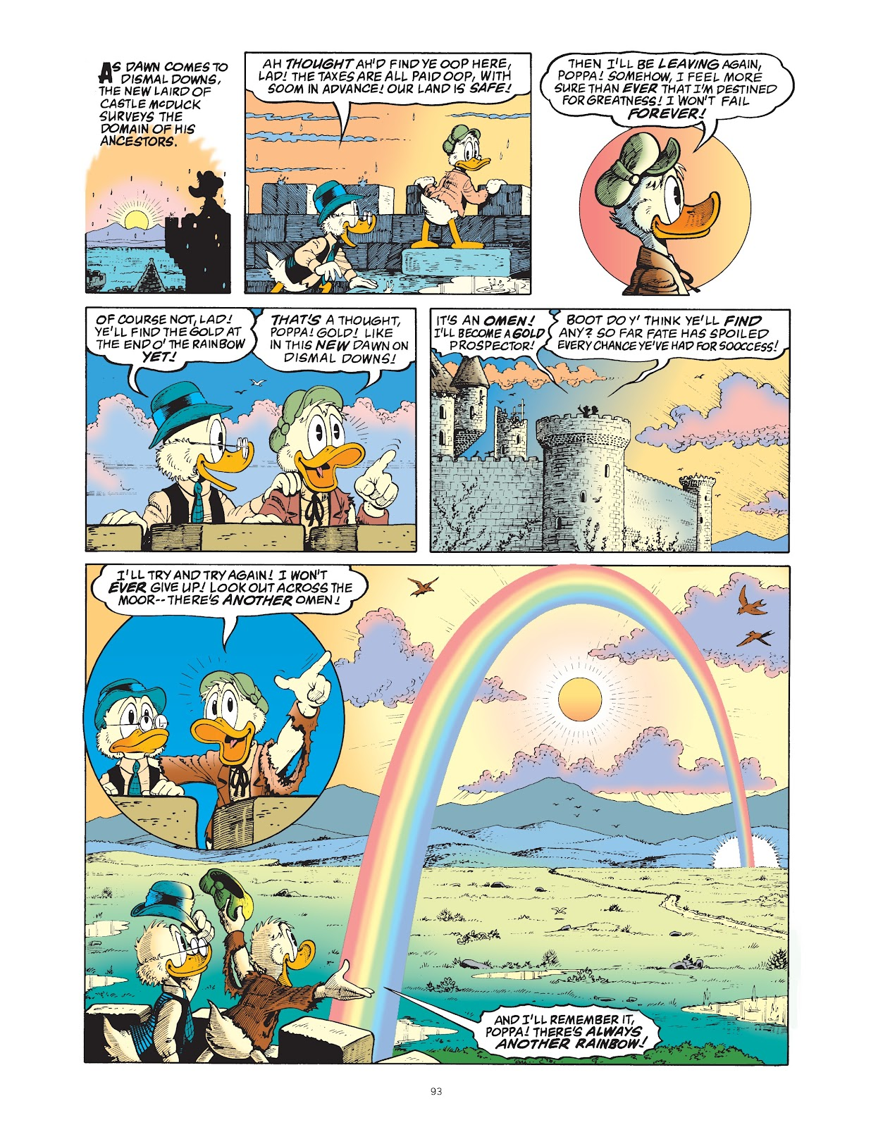 Read online The Complete Life and Times of Scrooge McDuck comic -  Issue # TPB 1 (Part 1) - 96