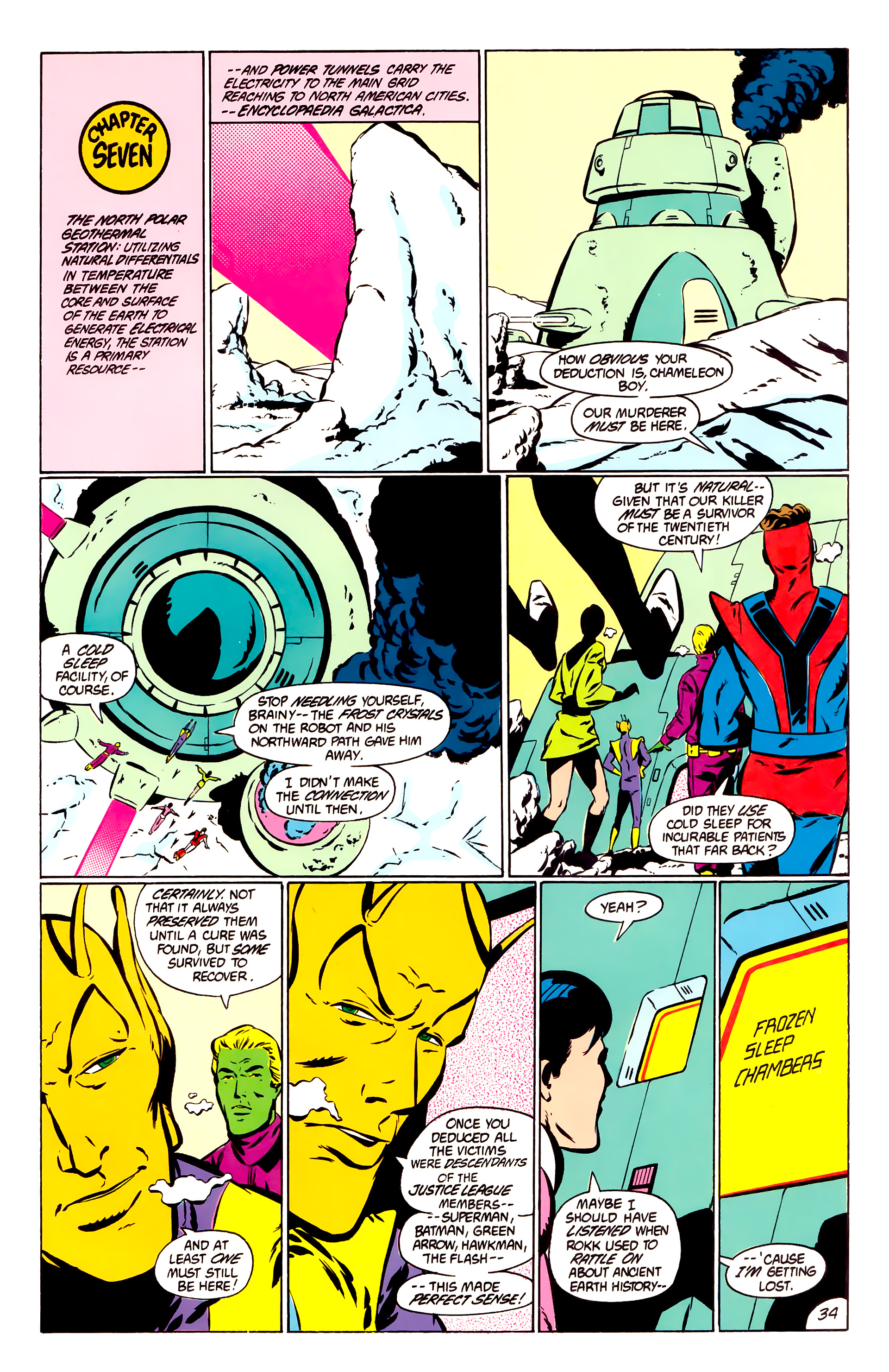 Legion of Super-Heroes (1984) _Annual_1 Page 35