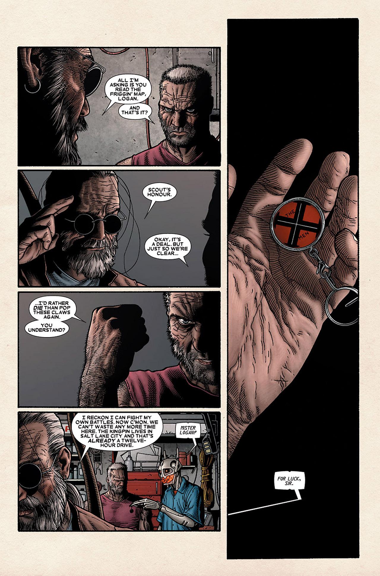 Read online Wolverine: Old Man Logan comic -  Issue # Full - 52