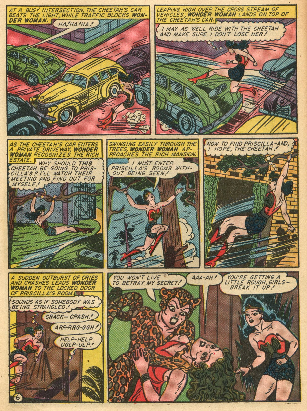Read online Sensation (Mystery) Comics comic -  Issue #22 - 8