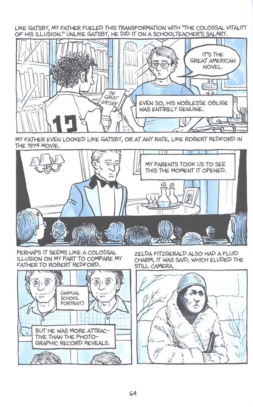 Read online Fun Home: A Family Tragicomic comic -  Issue # TPB - 71
