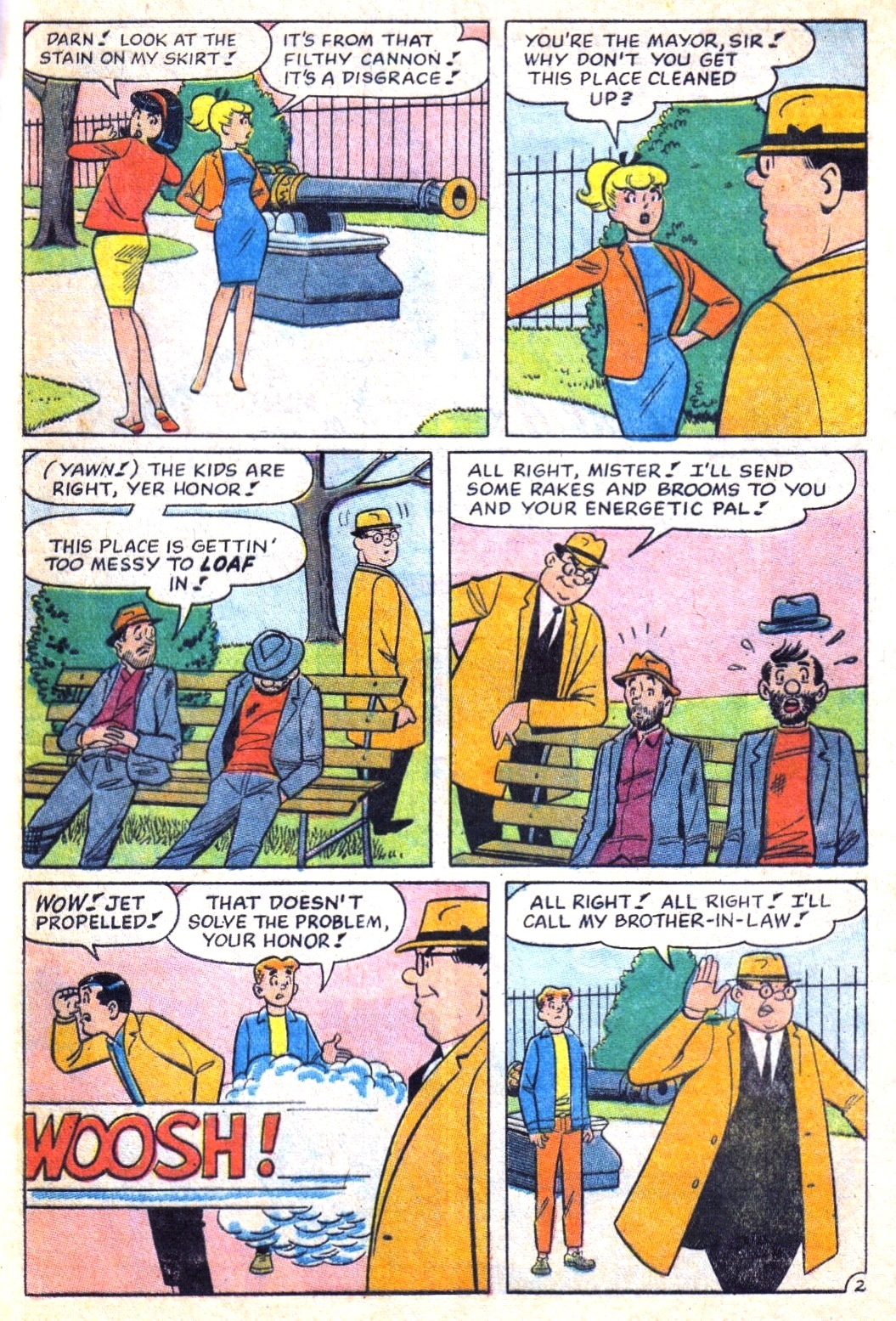 Read online Archie (1960) comic -  Issue #171 - 29